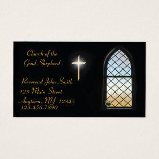 Cartão de visita do vitral