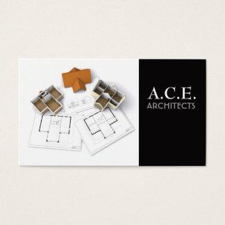 Cartão de visita dos arquitetos