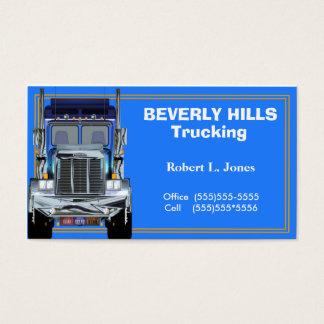 Cartão de visita dos camionistas