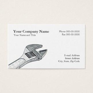 Cartão de visita dos canalizador
