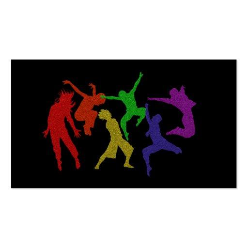 Cartão de visita dos dançarinos