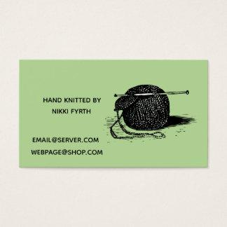 Cartão de visita dos Knitters