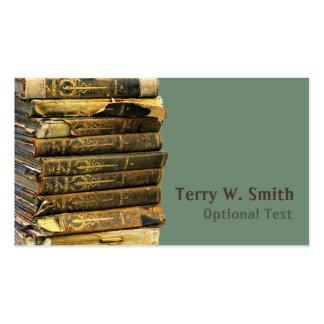 Cartão de visita dos livros