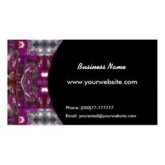 Cartão de visita dos padrões