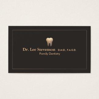 Cartão de visita elegante da nomeação do