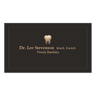 Cartão de visita elegante da nomeação do escritóri