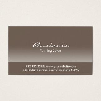 Cartão de visita elegante do salão de beleza