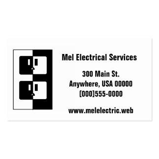"""Cartão de visita """"elétrico"""""""