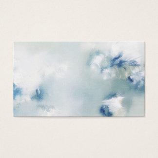 Cartão de visita Enchanted do abstrato da luz