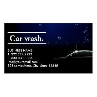 Cartão de visita escuro elegante do detalhe/lavage