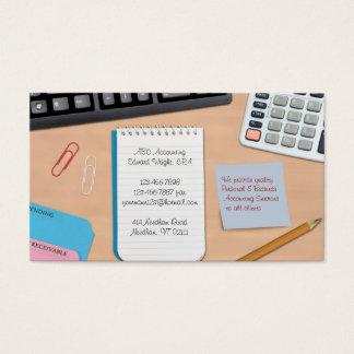 Cartão de visita explicar/trabalho de escritório