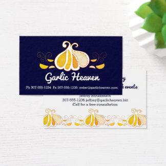 Cartão de visita feito sob encomenda da