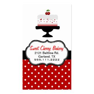 Cartão de visita feito sob encomenda da padaria do