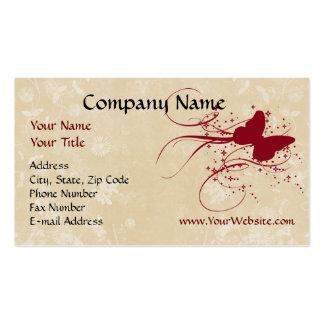Cartão de visita feito sob encomenda, design de cr