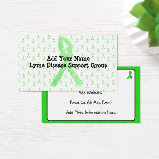 Cartão de visita feito sob encomenda do grupo de