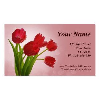Cartão de visita floral do calendário de 2014 bols