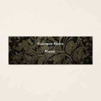 Cartão de visita floral do Grunge barato do