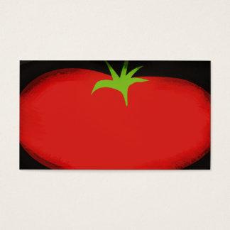 Cartão de visita grande do vegetal de fruta do