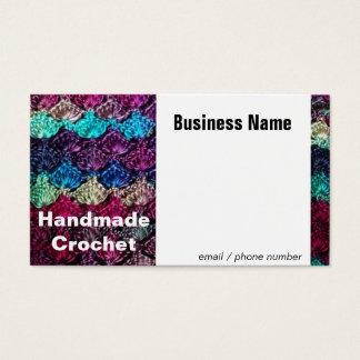 Cartão de visita Handmade do Crochet