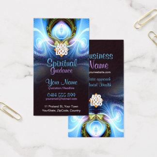 Cartão de visita holístico da energia da