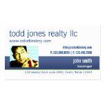 Cartão de visita Home pessoal do Realty