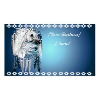 Cartão de visita ideal do coletor de Appy do leopa