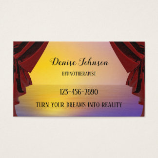 Cartão de visita ideal profissional da nomeação
