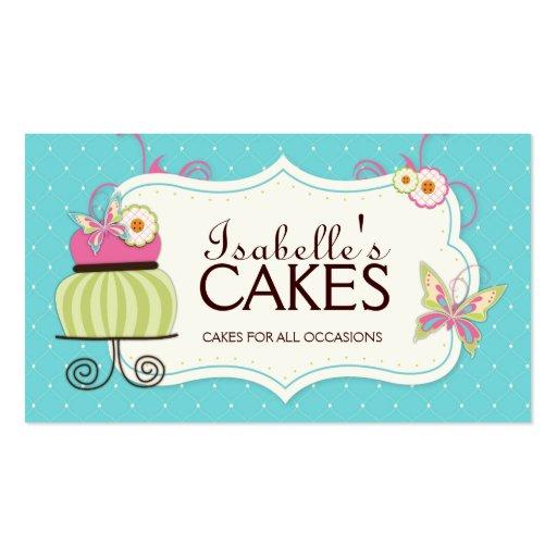 Cartão de visita lunático da padaria