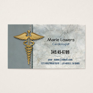Cartão de visita médico.