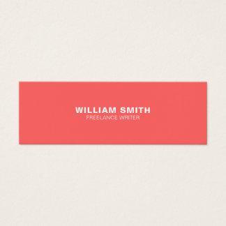 Cartão de visita moderno elegante profissional