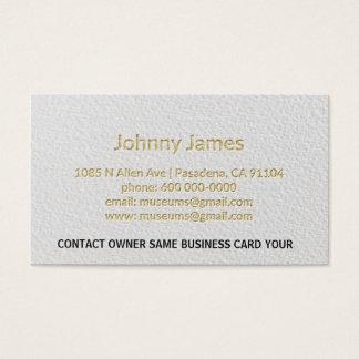 Cartão de visita moderno profissional da