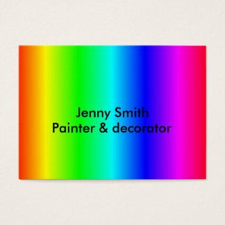 cartão de visita Multi-colorido personalizar-capaz