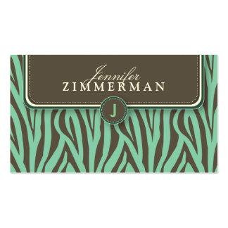 Cartão de visita na moda do desenhista do impressã