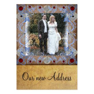 Cartão de visita novo dos cartões de fotos do casa
