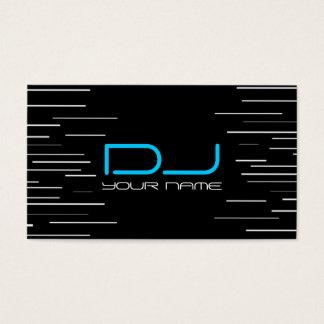 Cartão de visita original do DJ