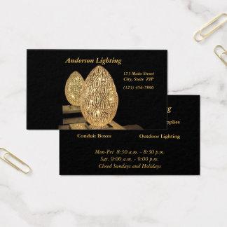 Cartão de visita--Ovo iluminado