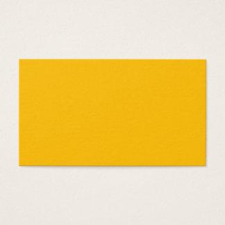 Cartão de visita padrão ambarino