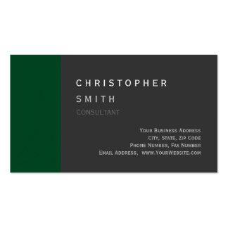 Cartão de visita padrão cinzento ascendente modern