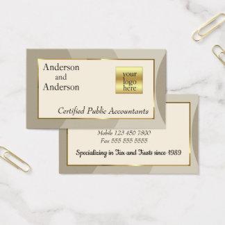 Cartão de visita padrão customizável