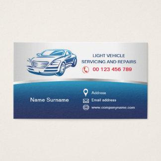 Cartão de visita para auto serviços