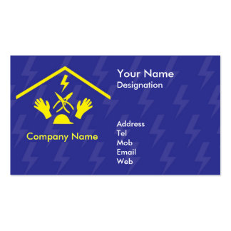 Cartão de visita para Electriicans/negócio elétric