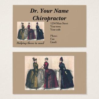 Cartão de visita para o Chiropractor - assim