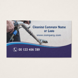 Cartão de visita para Tapete Limpeza Empresa