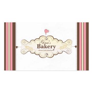 cartão de visita personalizado da padaria