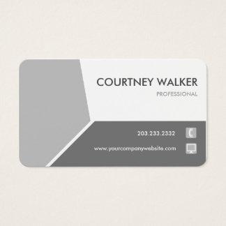 Cartão de visita personalizar-capaz de prata