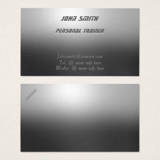 Cartão de visita pessoal do instrutor do design