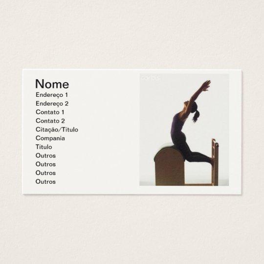 Cartão de visita - Pilates