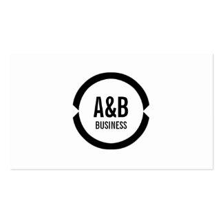Cartão de visita preto profissional do motorista