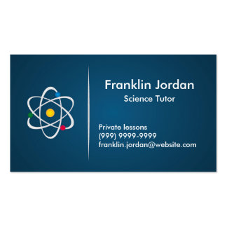 Cartão de visita professor particular