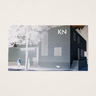 cartão de visita profissional da arquitetura do